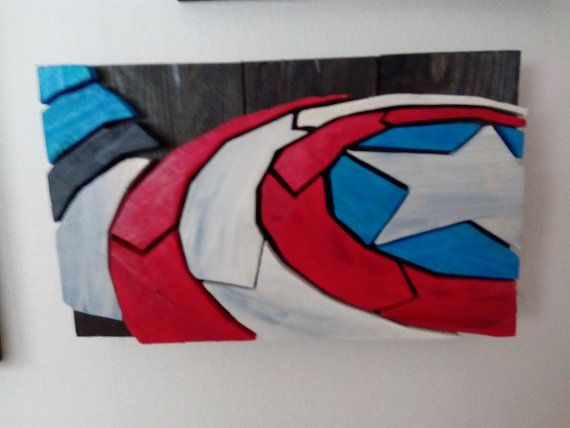 Captain America - Wood Picture