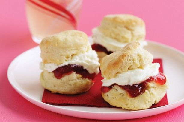 Lemonade makes the scones light and fluffy and adds a hint of lemon flavour too.