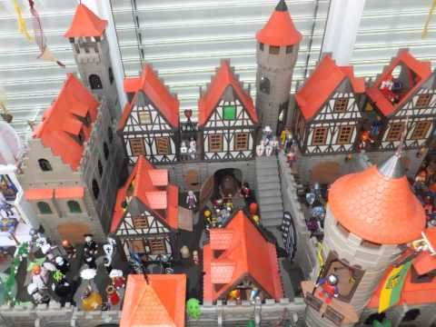 XXL Playmobil World (Detail) - HD - Knights - Castle - Pirates - Dragons - Ritter Piraten Dragons - YouTube