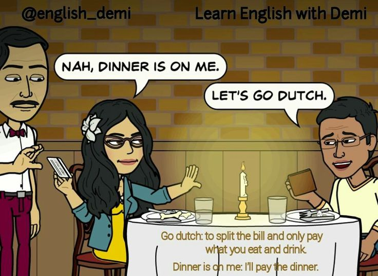 """The meaning of the idiom """" let's go Dutch"""""""