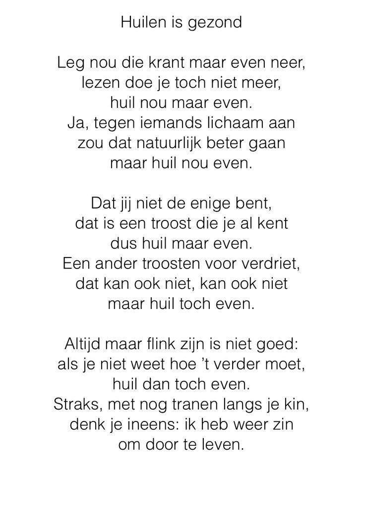 Bijzonder gedicht van Willem Wilmink. Ontvangen van mijn vriendin Gerda op gedichtendag 2015.