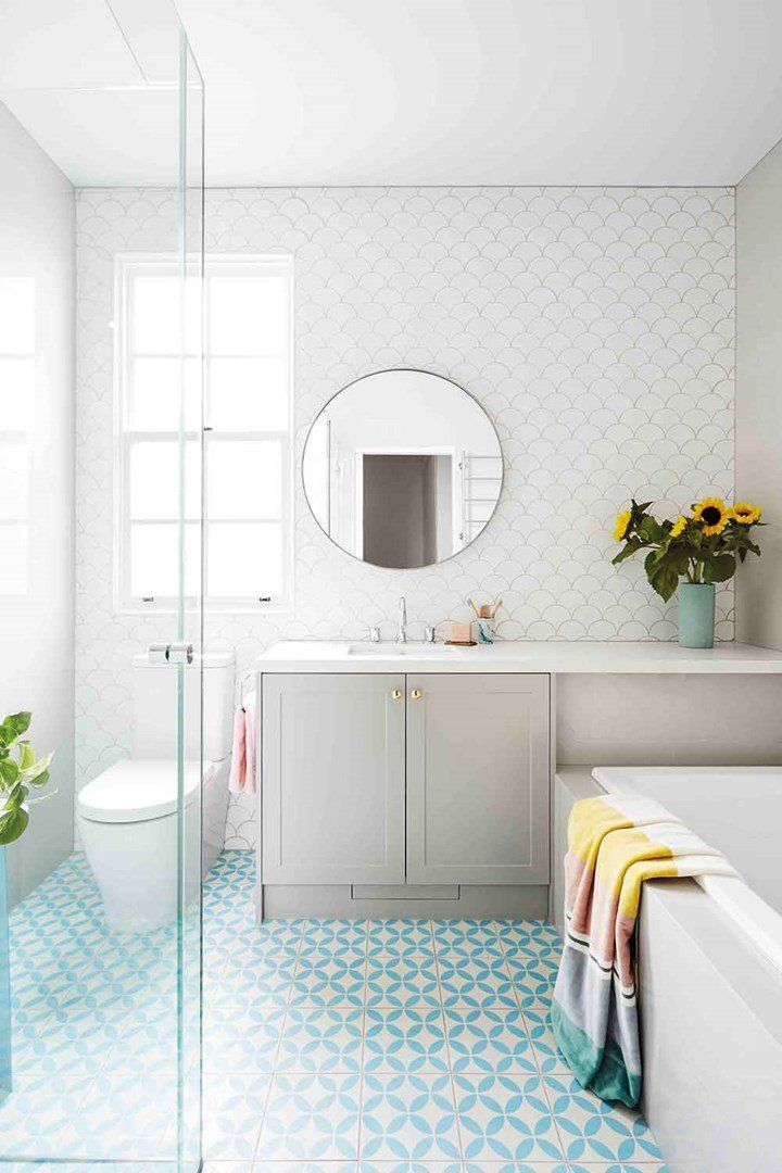 These Are The 10 Most Beautiful Rooms In Australia White Bathroom Bathroom Color Schemes Bathroom Colors