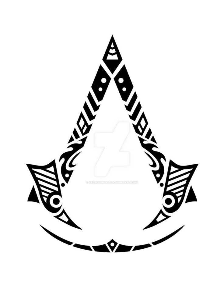 Tribal Assassin's Creed Tattoo by Kelseyartist on DeviantArt