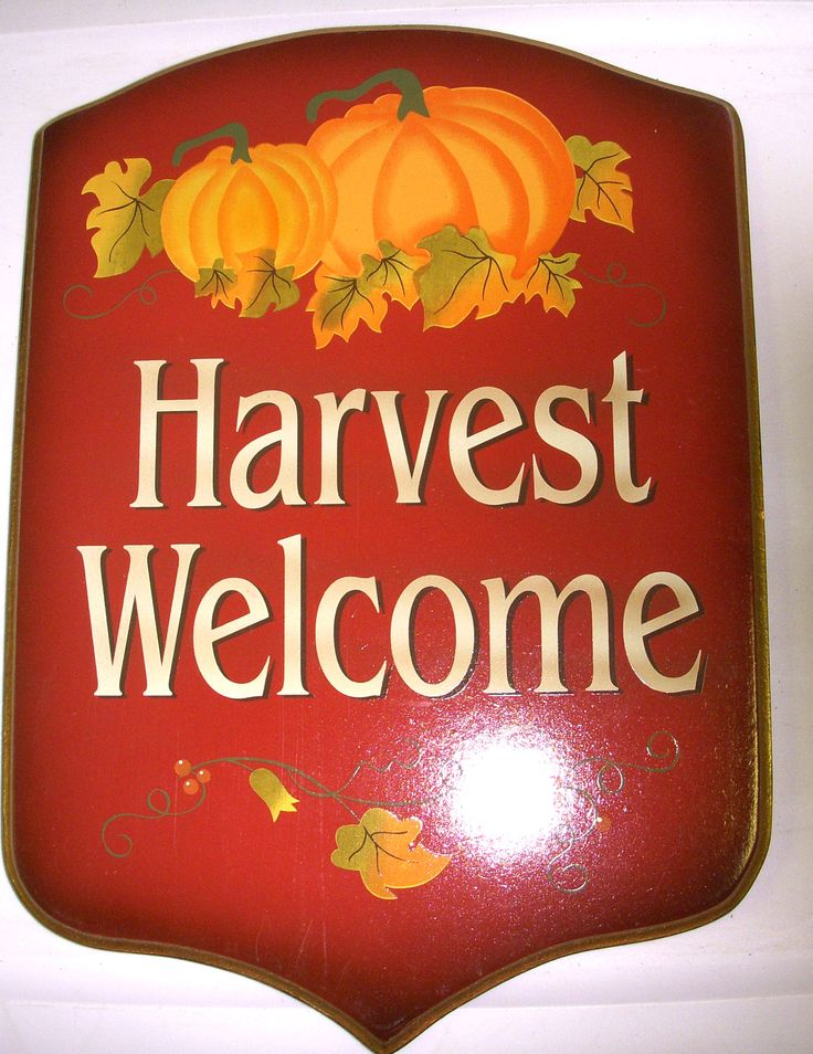 fall harvest welcome -#main