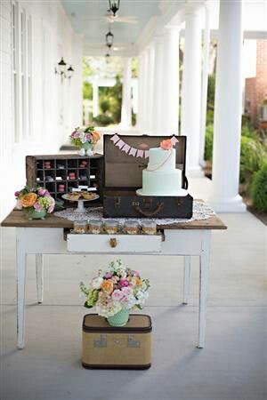 Tea party themed wedding inspiration :-)