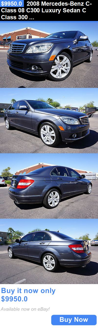Luxury Cars: 2008 Mercedes-Benz C-Class 08 C300 Luxury Sedan C Class 300 2 Owner Clean Car 2008 Mercedes C300 Luxury Package Sedan Like 2009 2010 2011 2012 2013 C BUY IT NOW ONLY: $9950.0
