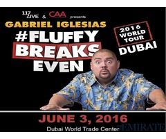 Silver Tickets for Gabriel Iglesias Dubai