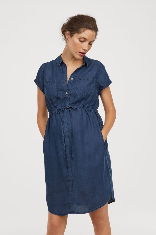 29f156faa0620 MAMA Lyocell Denim Dress | Get in my closet ! | Dresses, Denim ...