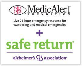 MedicAlert + Alzheimer's Association Safe Return | Caregiver Center | Alzheimer's AssociationAssociation Safe, Response Service, Emergency Responibility, Alzheimer'S Association, Medical Emergency, Safe Returns, 24 Hour Assistant, Emergency Response, Caregiver Center