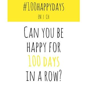 The #100HappyDays challenge is an international social media experiment that is challenging people to be happy every day for 100 days. | 39 Reasons To Be Happy Every Day For 100 Days