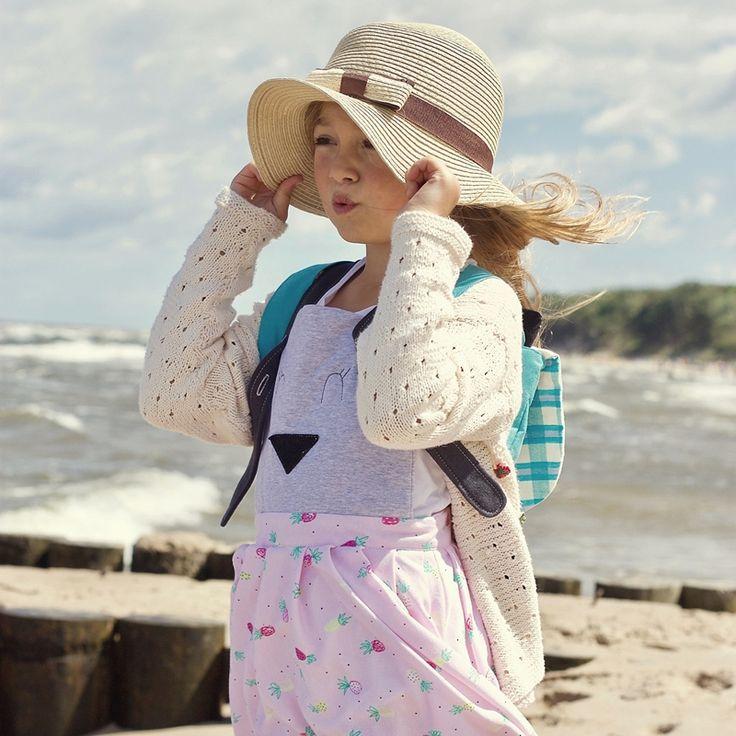 Sklep internetowy Lady Stump   Sukienka z szelkami Królik modelka