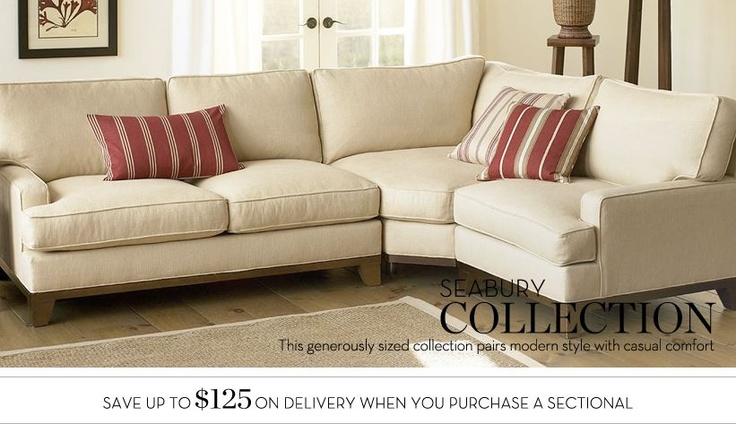 Love This Sofa...wish I Could Order It, But Website Wonu0027t Show It For  Order. | The Ranch | Pinterest | Pottery Barn Sectional, Pottery And Living  Rooms