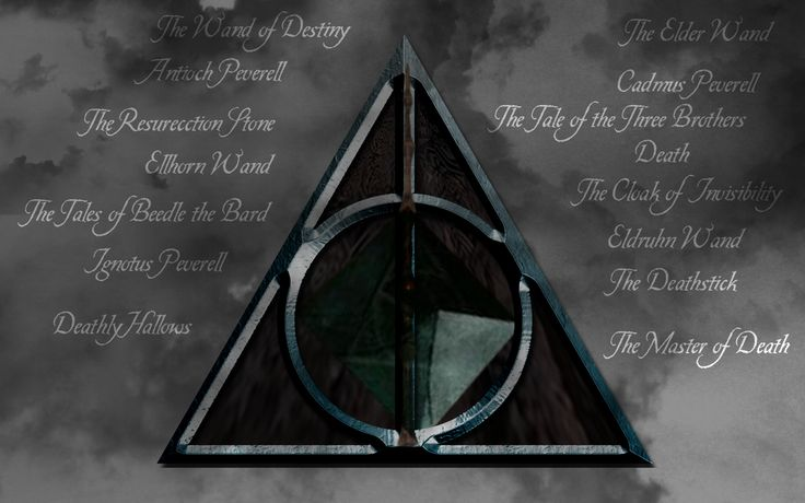 harry potter images with deathly Hallows symbol Deathly