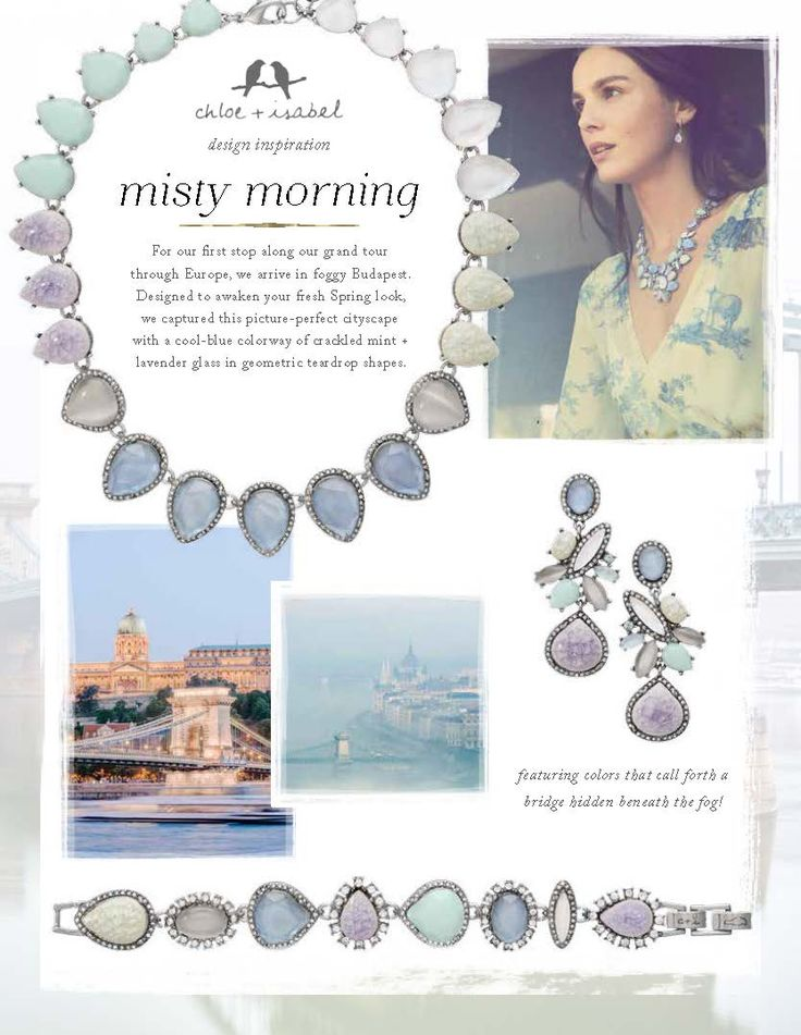 Discover the inspiration behind our Misty Morning mini-collection!