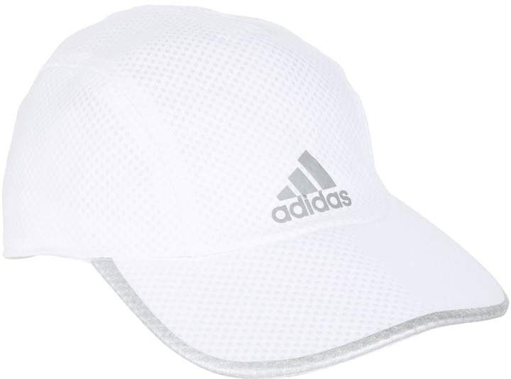 reputable site b5079 b67eb Adidas Climacool Running Cap, White, One Size | Best ...
