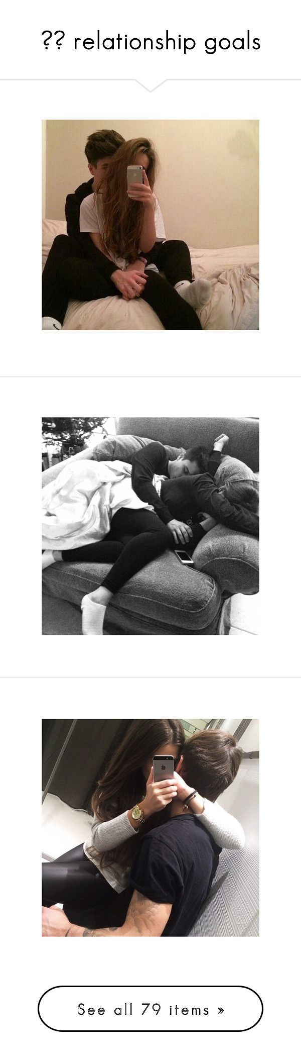 """""""✞♕ relationship goals"""" by matea2002 ❤ liked on Polyvore featuring instagram, couples, pictures, other, pics, black and white, people, sets, backgrounds and insta"""
