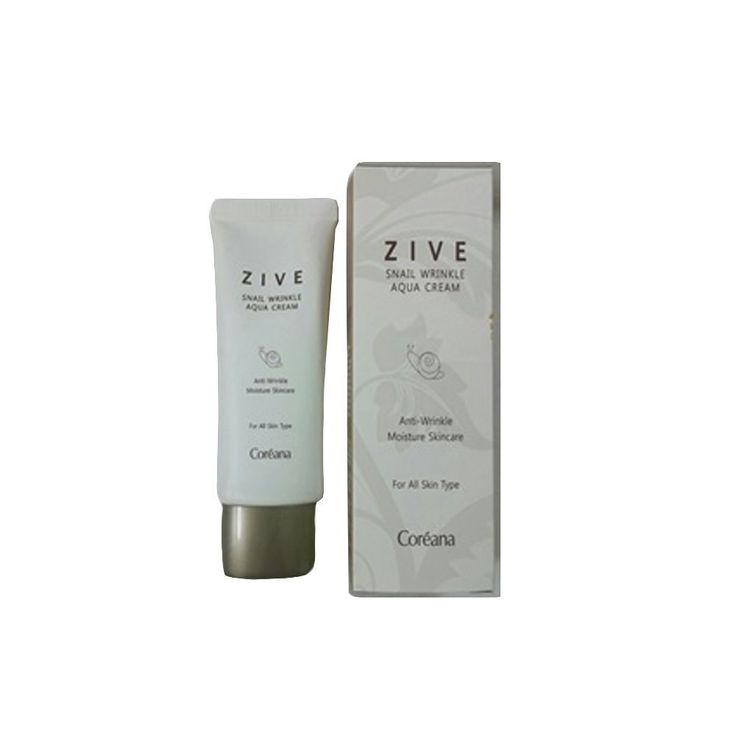 Koreana Cosmetics Benecos Anti Aging Zive Snail Wrinkle Aqua Cream 140ml #Benecos