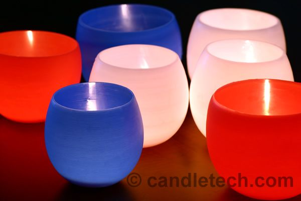 Learn how to make these beautiful water balloon luminaries.