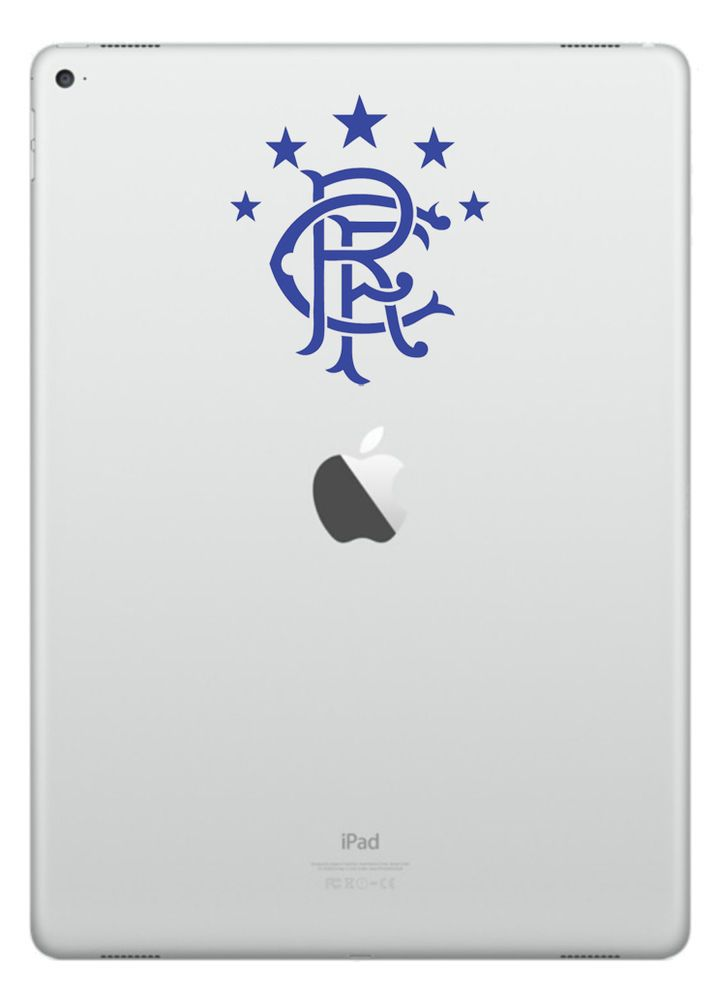 Rangers Logo Vinyl Transfers iPad Tablet Laptop Wall Car