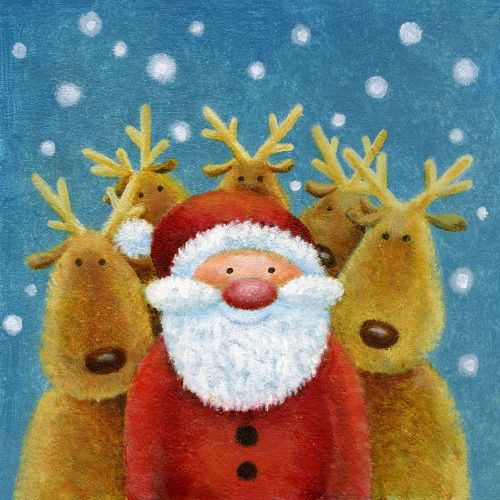 Jan Pashley #merrychristmas #illustration