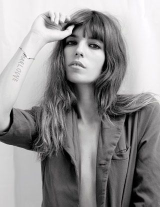 Lou Doillon photographed by Kate Barry.