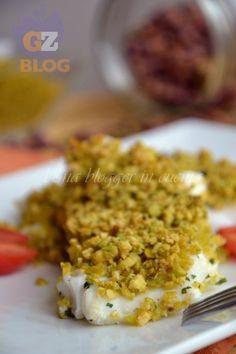 merluzzo in crosta di pistacchi