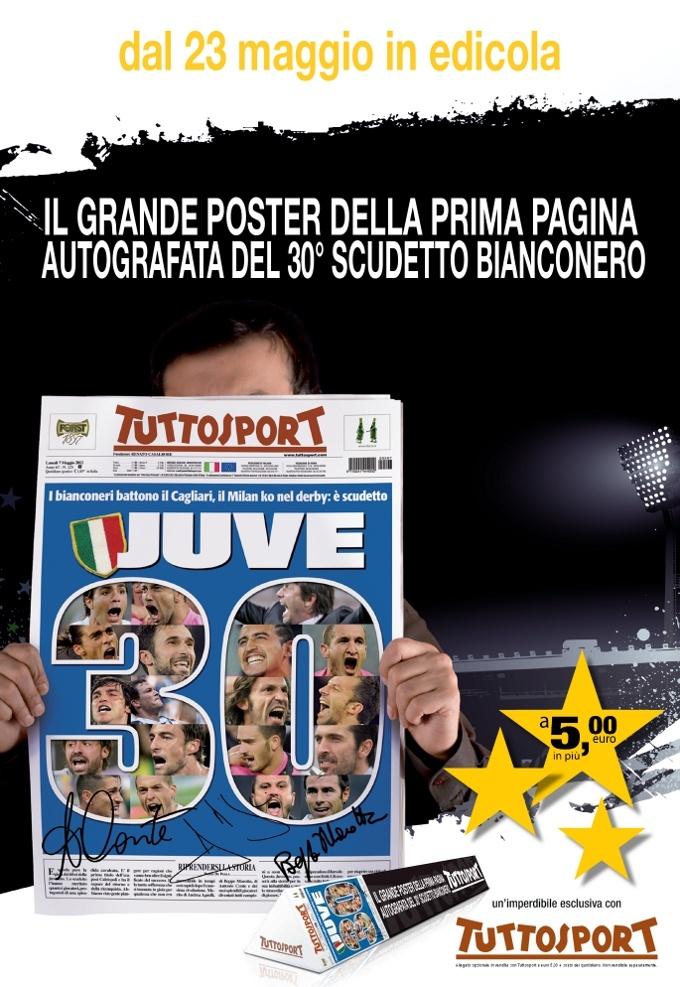 Poster della prima pagina del 7 maggio in edicola dal 23 Maggio a 5,00 euro con il giornale.