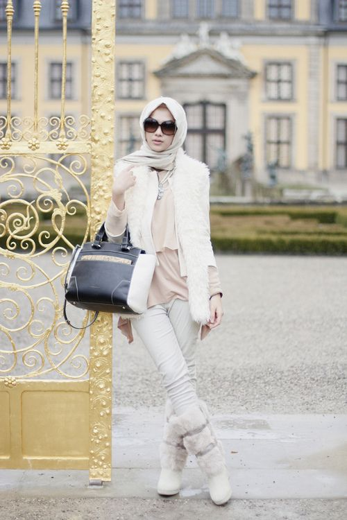 fancy hijab travel outfits world