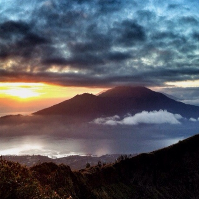 Mt Batur, Bali. Such a magical place! It's worth the climb!!!