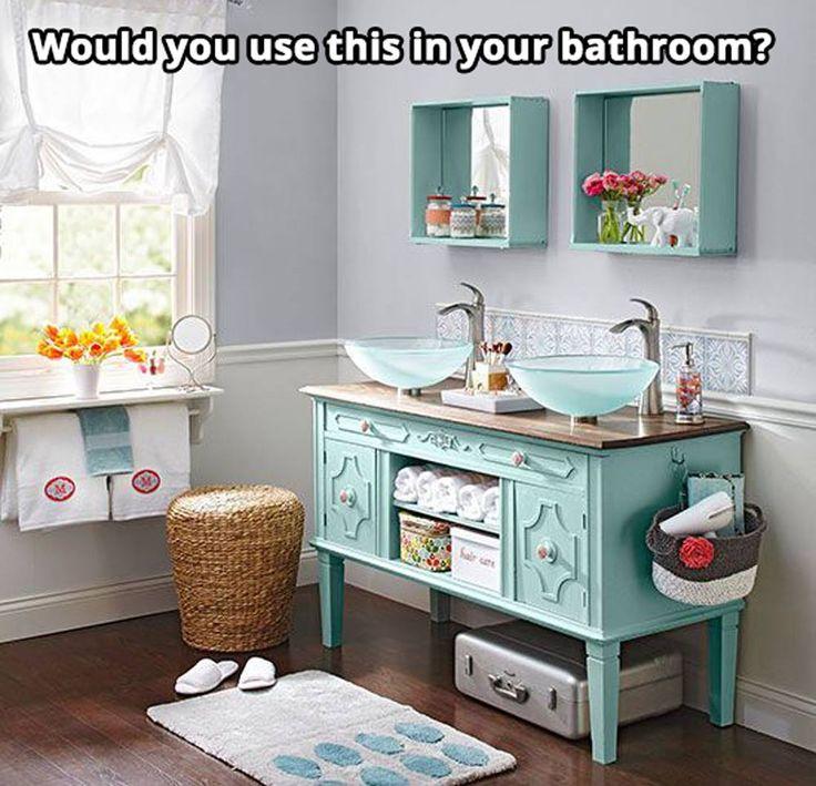 25+ Best Ideas About Vintage Bathroom Vanities On Pinterest