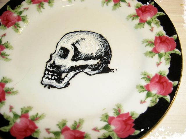 Romuna: 'skulls'n'roses      skulls and roses, an eternal ...