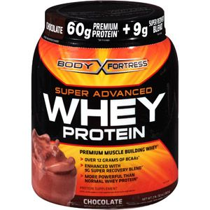 Body Fortress Super Advanced Whey, 2 lbs, Chocolate, $15.99