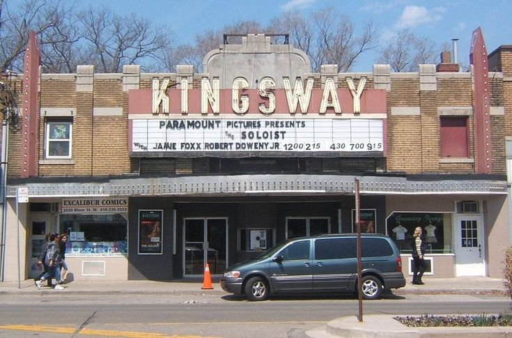 "Kingsway cinema, Toronto. I can't count the number of times I saw a movie at this theatre when I was a teen. But I do remember""The Haunting of Hill House"" with Julie Harris and Claire Bloom as if I'd seen it last week!"