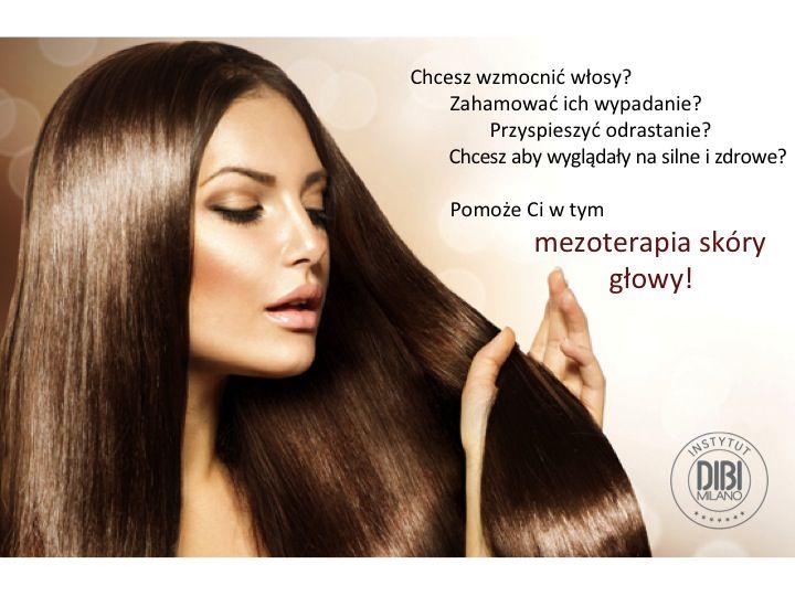 Mezoterapia skóry głowy pomoże Ci z nadmiernym wypadaniem włosów. Przyspieszy ich odrastanie i wzmocni. Najlepsze efekty daje kuracja od 6 do 12 zabiegów. Początkowo co dwa tygodnie, później raz w miesiącu.
