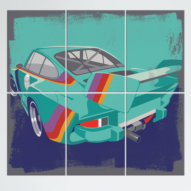 Kremer Porsche 935 Poster Made Out Of Metal Metal Wall Art Art Making Out