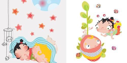 Musu stickers creaciones divertidas para el beb for Stickers pared bebe