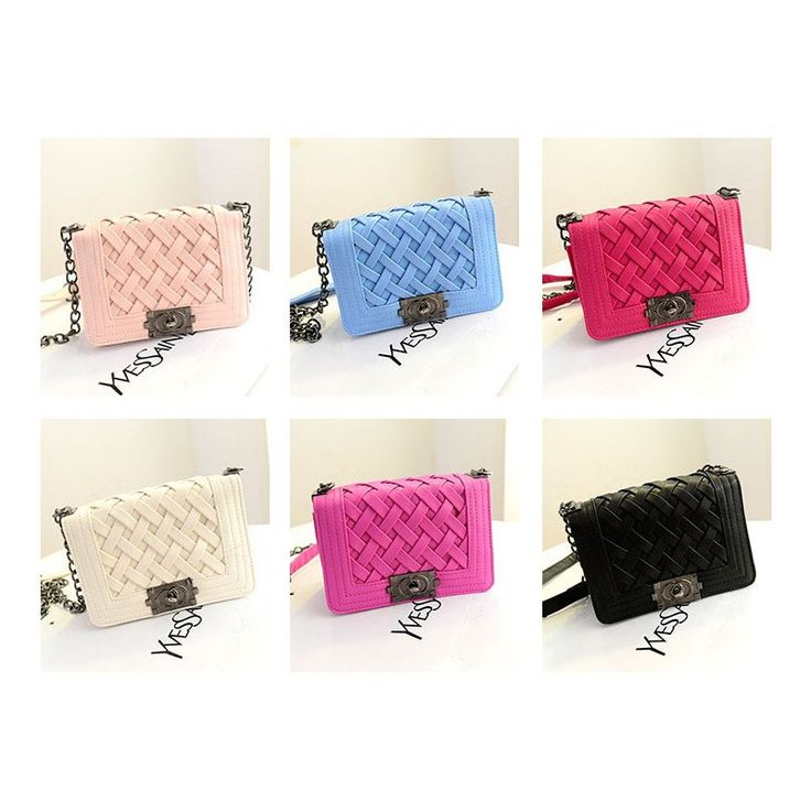 Candy Color Chain Messenger Bag Flap Shoulder, Factory Price, Worldwide Free Shipping!