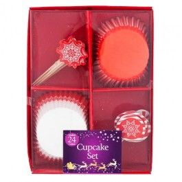 Available in 2 designs. Contains 24 cases and 24 picks. Part of a coordinated range of baking accessories.