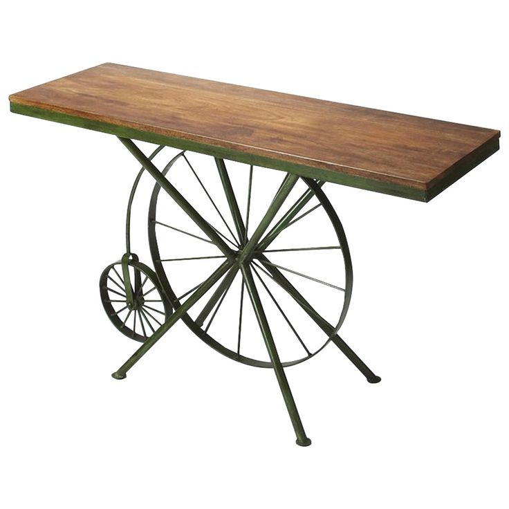 Butler Specialty Industrial Chic Transitional Console Table
