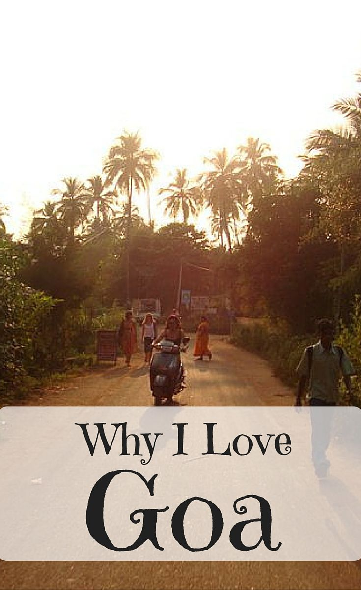 I love Goa - it is my favorite place in the world and there are 11 great reasons why you should come and visit it too!
