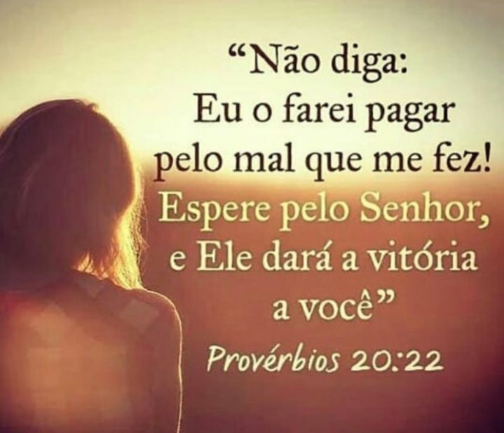 Espere pelo Senhor, e ele dará a vitória a você.
