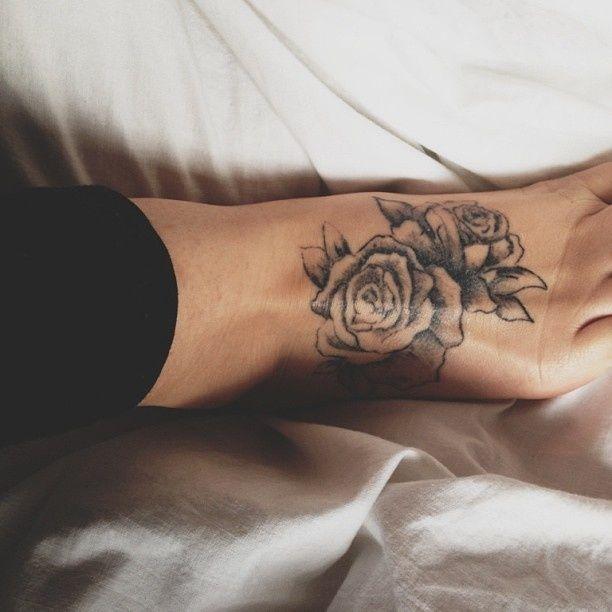 10 Foot Rose Tattoo Designs