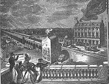 Victorian train station London Bridge