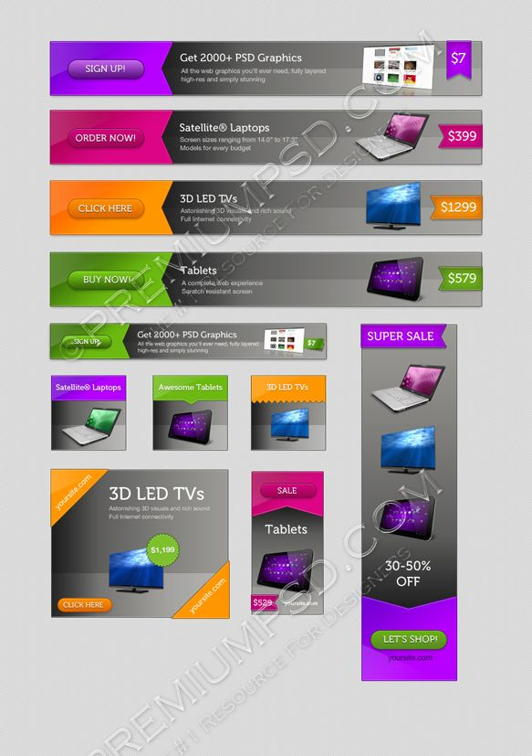 web-banners-pack