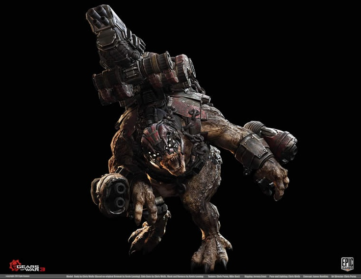 Pixologic ZBrush Gallery: Epic: Gears of War 3