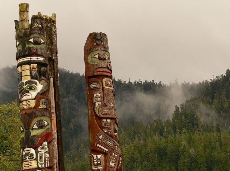 Totem in British-Columbia Canada. crivard