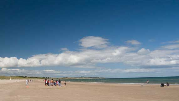 As seen on screen... County Wexford  When director Steven Spielberg wanted to recreate one of the 20th century's most dramatic moments, he needed somewhere special.  Enter Curracloe Beach in County Wexford.  The opening D-Day scenes filmed here are both spectacular and harrowing. A historic achievement.