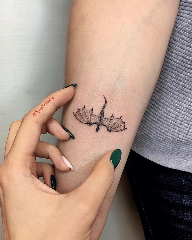 Drache GOT Mini Tattoo   – Tattoo