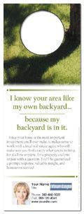 Real Estate Neighborhood Door Hangers ..... Please save this pin... ....... Because for real estate investing... Click on this link now!  http://www.OwnItLand.com