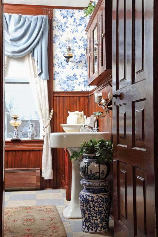 6 Ideas For Country Wainscots Victorian DecorVictorian FarmhouseVictorian HousesFolk